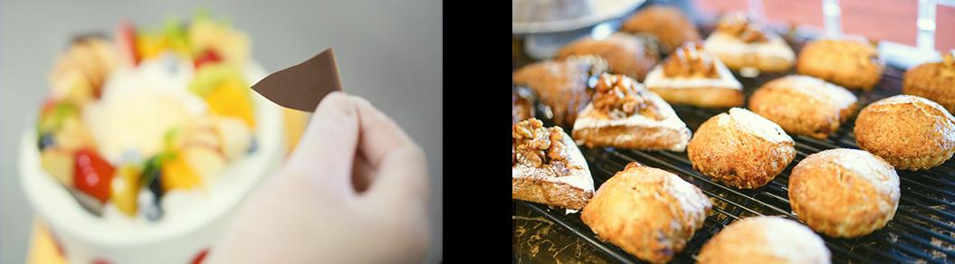 生菓子と焼き菓子